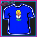 POTATO CARTOON  MAN FUNNY SLOGAN CELEBRITY TSHIRT